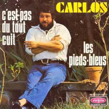 Carlos Les Pieds Bleus cover art