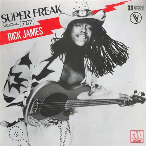 Rick James Super Freak cover art