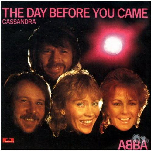 """Abba """"the day before you came"""" sheet music in c minor download."""