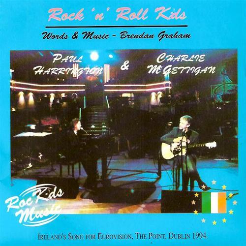 Paul Harrington Rock 'N' Roll Kids cover art