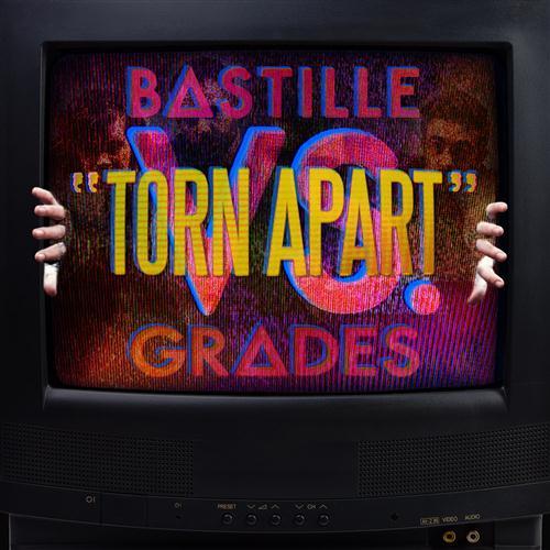 Bastille Torn Apart (feat. Grades) cover art