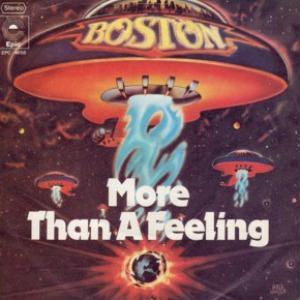 Boston More Than A Feeling cover art