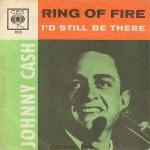 Johnny Cash Ring Of Fire cover art