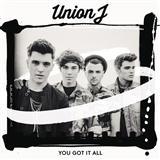 Union J You Got It All arte de la cubierta