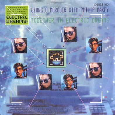 Giorgio Moroder & Philip Oakey Together In Electric Dreams cover art