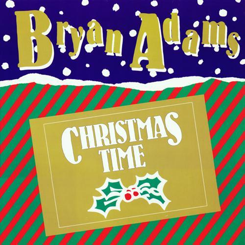 Bryan Adams Christmas Time cover art