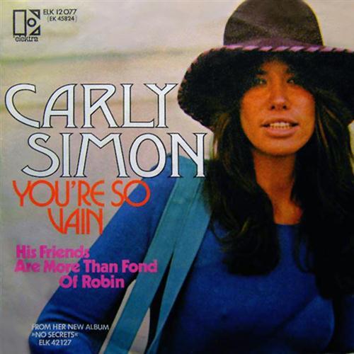 Carly Simon You're So Vain cover art