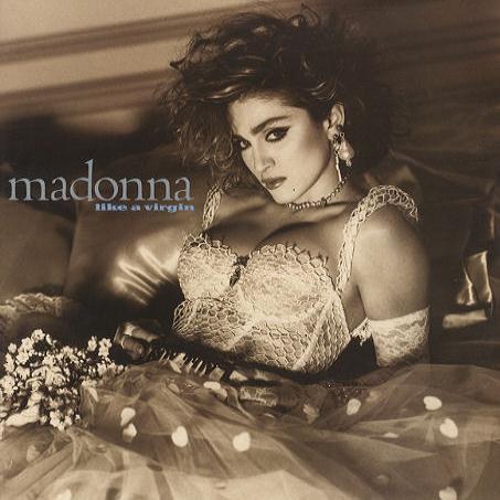 Madonna Like A Virgin cover art