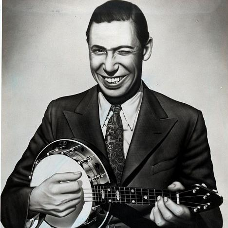 George Formby Sitting On The Ice In The Ice Rink cover art