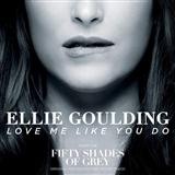 Ellie Goulding Love Me Like You Do (from 'Fifty Shades Of Grey') cover art