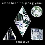 Clean Bandit Real Love (featuring Jess Glynne) cover kunst