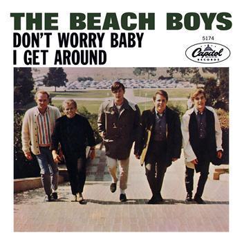 The Beach Boys Don't Worry Baby cover art