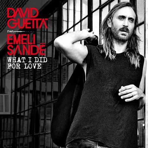 David Guetta What I Did For Love (feat. Emeli Sandé) cover art