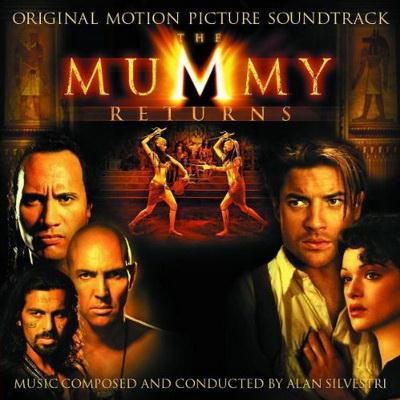 Alan Silvestri The Mummy Returns (The Mummy Returns) cover art
