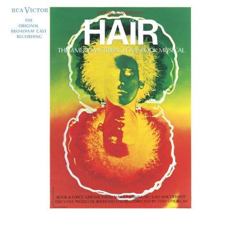 Galt MacDermot Hair (from 'Hair') cover art