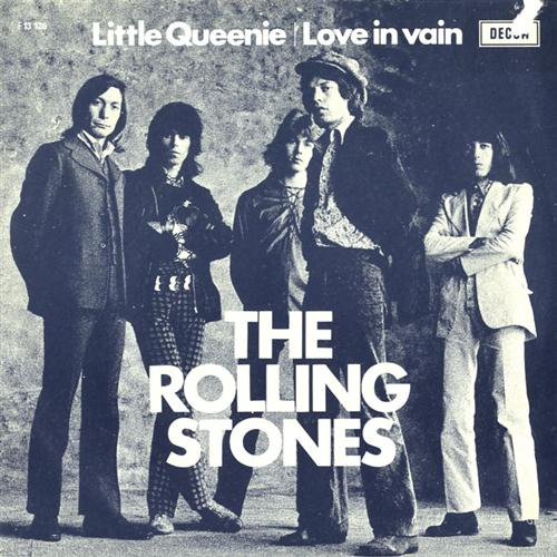 The Rolling Stones Little Queenie cover art