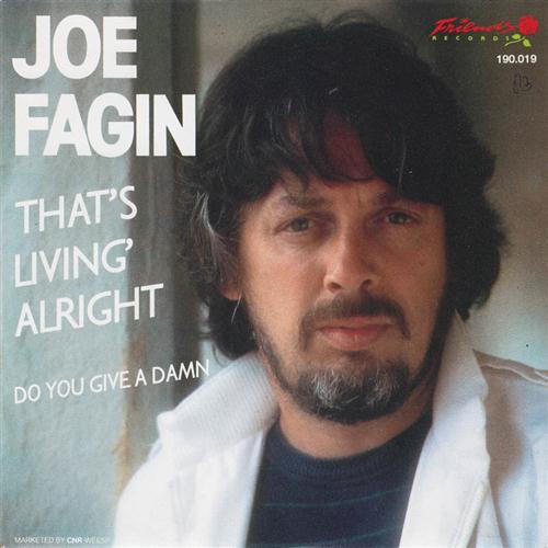 Joe Fagin That's Livin' Alright cover art