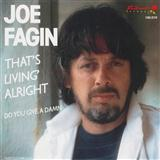 Joe Fagin That's Livin' Alright cover art