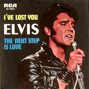 Elvis Presley I've Lost You cover art