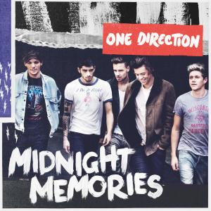 One Direction Don't Forget Where You Belong cover art