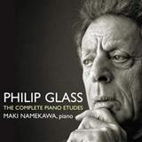 Philip Glass Etude No. 4 cover art