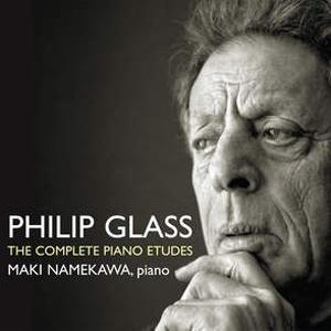 Philip Glass Etude No. 5 cover art