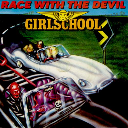 Girlschool Race With The Devil cover art