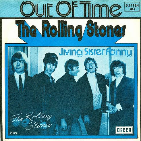 The Rolling Stones Out Of Time cover art