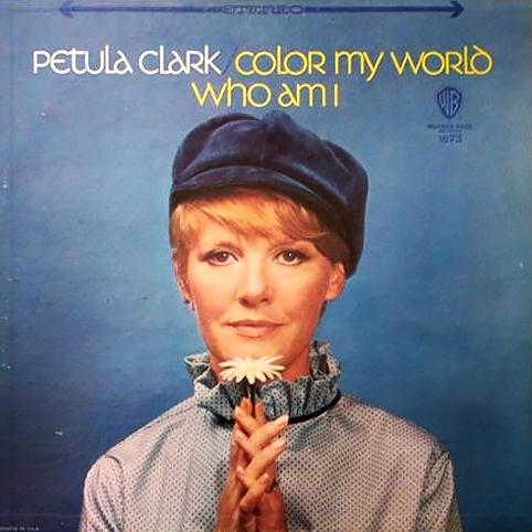 Petula Clark Who Am I cover art