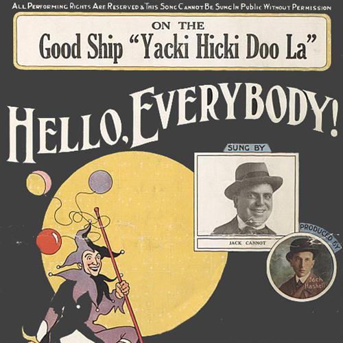Billy Merson On The Good Ship Yacki Hicki Doo La cover art
