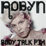 Robyn Dancing On My Own cover art