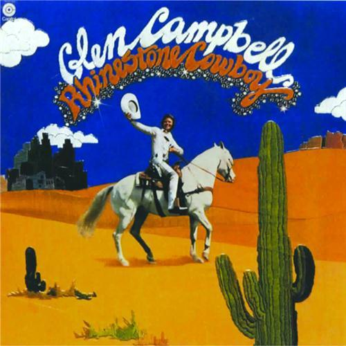 Glen Campbell Rhinestone Cowboy cover art