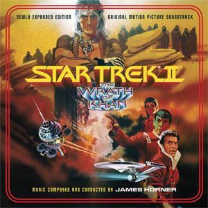 James Horner Star Trek II: The Wrath Of Khan cover art