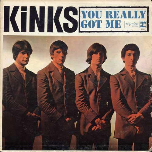 The Kinks You Really Got Me cover art