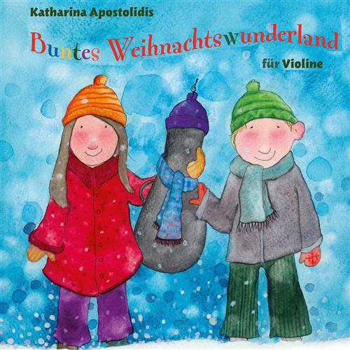 Traditional Buntes Weihnachtswunderland cover art