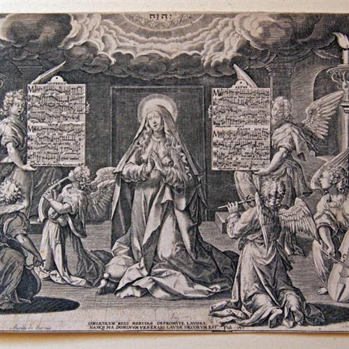 Cornelis Verdonck Ave Gratia Plena cover art