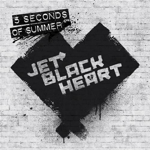 5 Seconds of Summer Jet Black Heart (Start Again) cover art