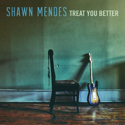 Shawn Mendes Treat You Better cover art