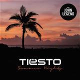 Tiesto Summer Nights (featuring John Legend) cover art