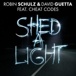 Robin Schulz & David Guetta Shed A Light (feat. Cheat Codes) cover art