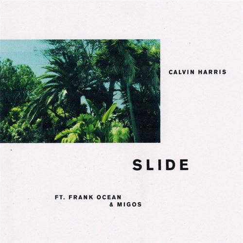 Calvin Harris Slide (feat. Frank Ocean & Migos) cover art