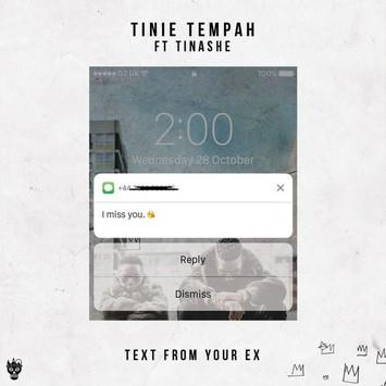 Tinie Tempah Text From Your Ex (feat. Tinashe) cover art