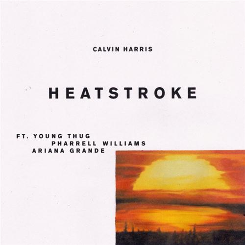 Calvin Harris Heatstroke (feat. Young Thug, Pharrell & Ariana Grande) cover art
