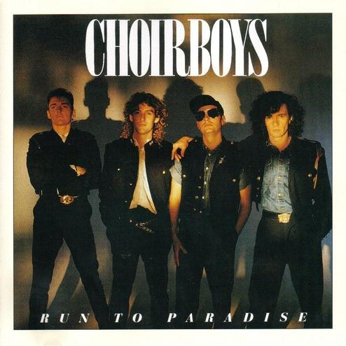 The Choirboys Run To Paradise cover art