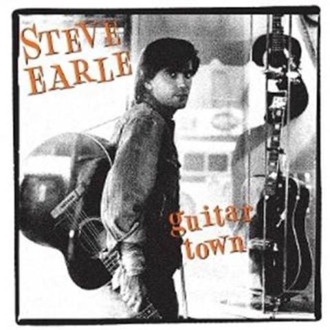Steve Earle Guitar Town cover art