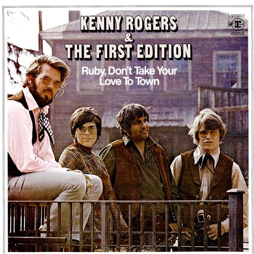 Ruby Dont Take Your Love To Town Sheet Music Kenny Rogers The