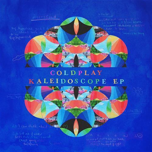 Coldplay A L I E N S cover art
