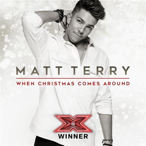 Matt Terry When Christmas Comes Around cover art