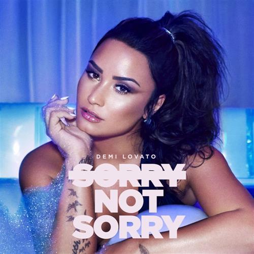 Demi Lovato Sorry Not Sorry cover art