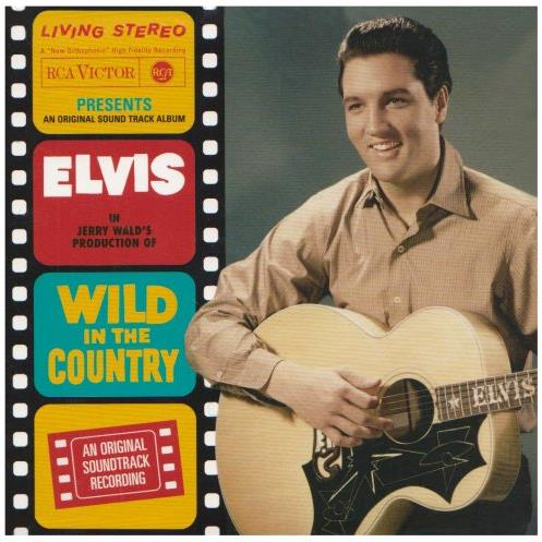 Elvis Presley Wild In The Country cover art
